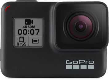 gopro-hreo7 balck cámara de 4K