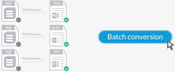 convertir PDF en lotes