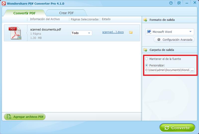 Convierte PDF seguros a Excel