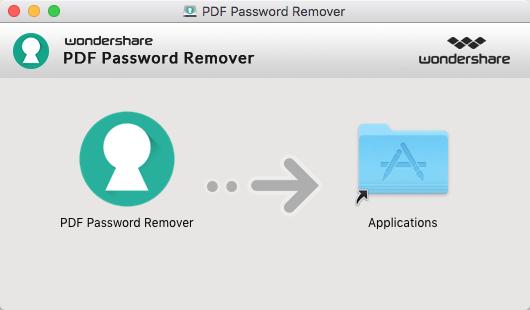 instalar pdf password remover para mac
