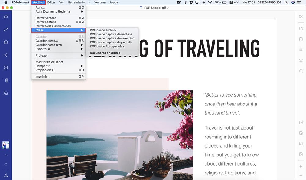 cómo imprimir en pdf en mac