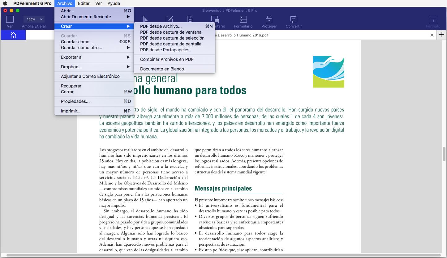 rtfd a pdf en mac
