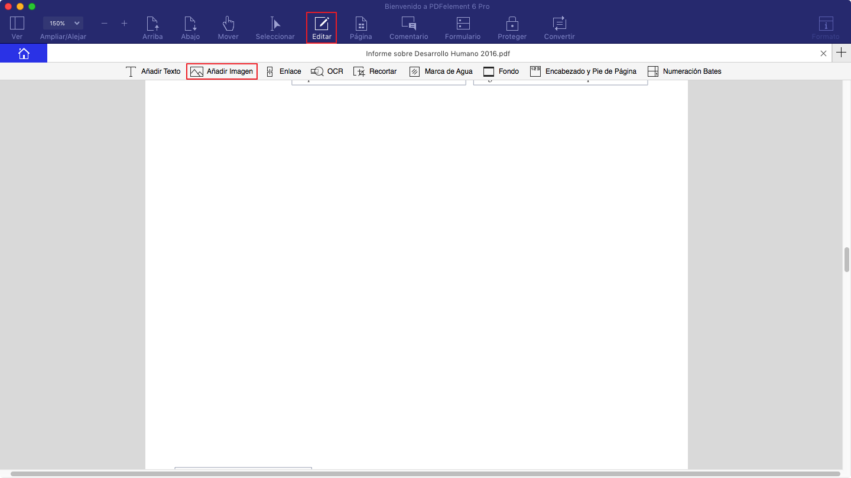 añadir páginas a pdf