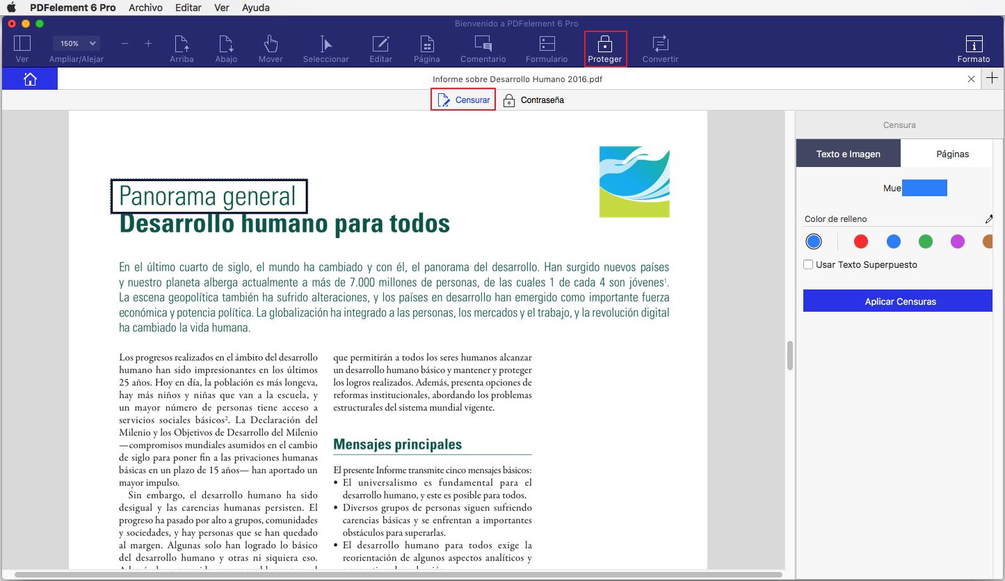 redactar pdf en mac