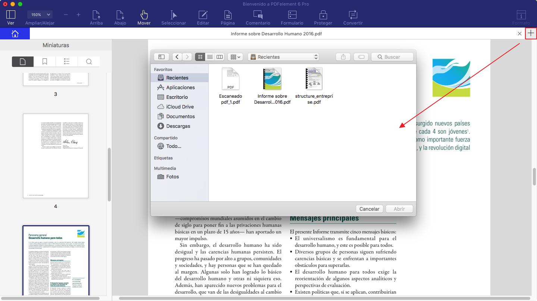corregir archivo pdf en preview