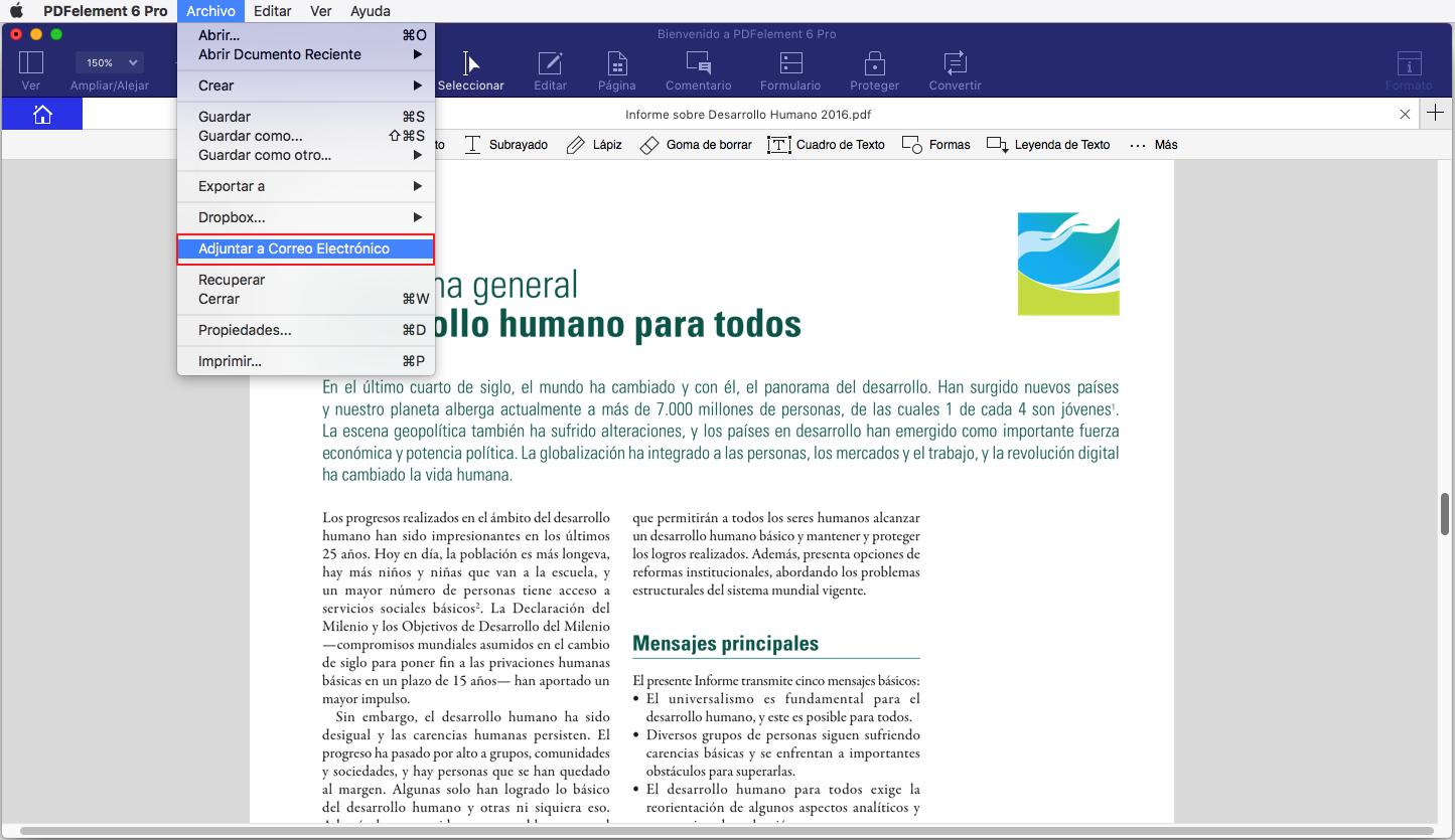 compartir archivos pdf