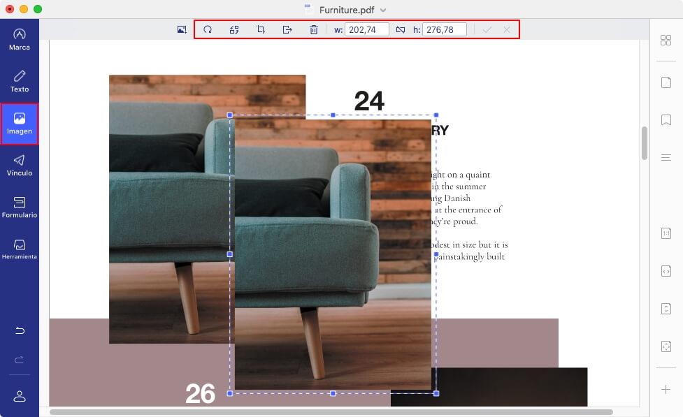 agregar jpg a pdf mac
