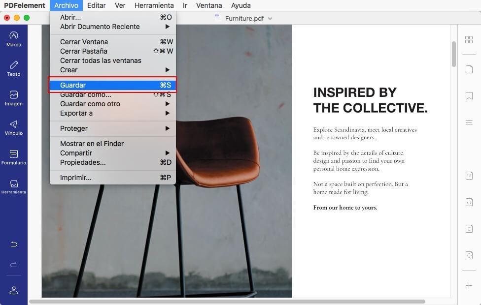 pdf orientation on mac
