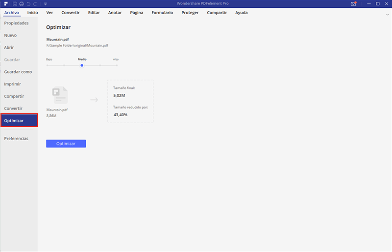 optimizador pdf