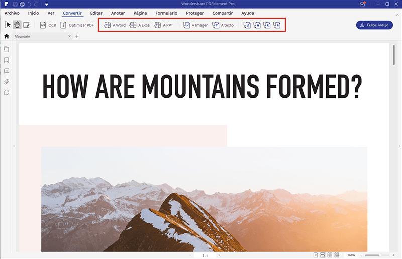 convertir pdf a html