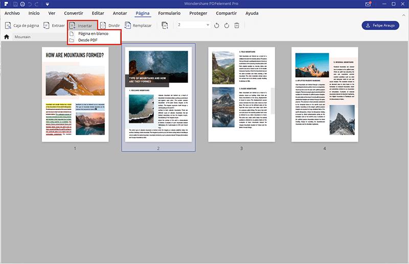 editor de páginas PDF