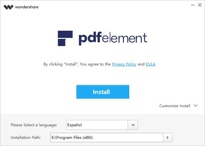 abrir PDF en PDFelement para Mac