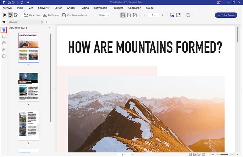 reorganizar paginas de archivo pdf
