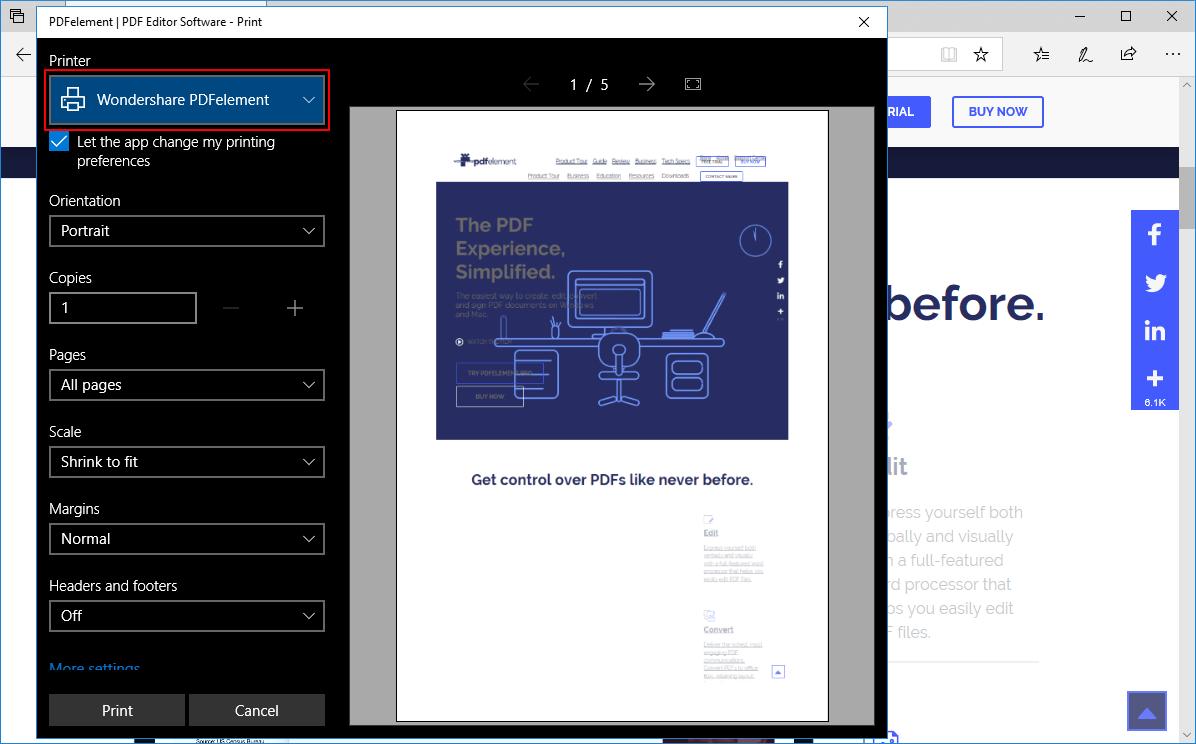 print to create