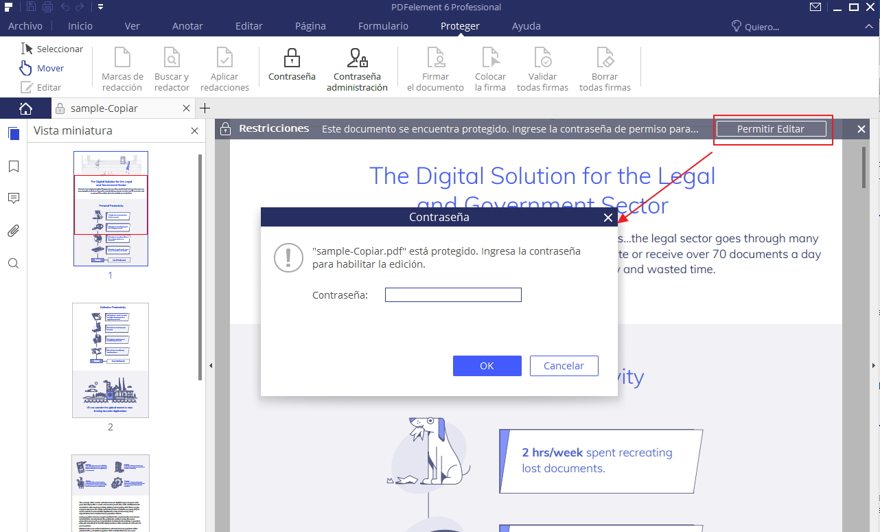 cómo hackear la contraseña en pdf