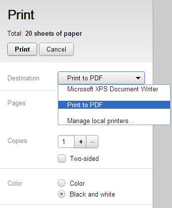 guardar pdf desde google chrome
