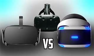 ¿Cuál es el mejor casco - Oculus Rift vs HTC Vive vs PlayStation VR?