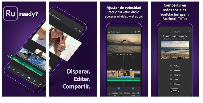 app para editar videos de adobe