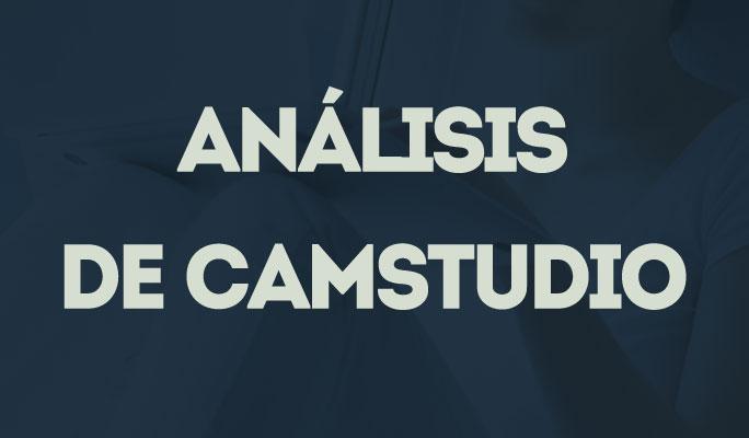 Análisis de CamStudio