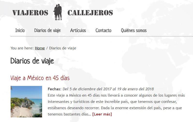 callejeros viajeros blog viaje espanol