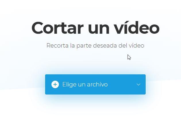 clideo cortador de video en linea