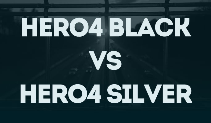 Hero4 Black Vs Hero4 Silver