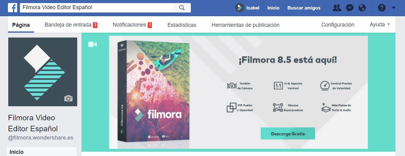 herramientas publicacion facebook