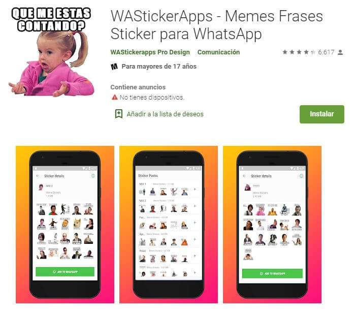 como hacer stickers de WhastApp