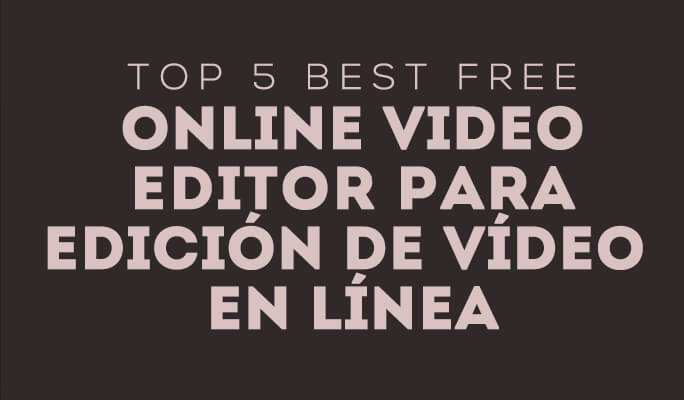 Best Free online video editors