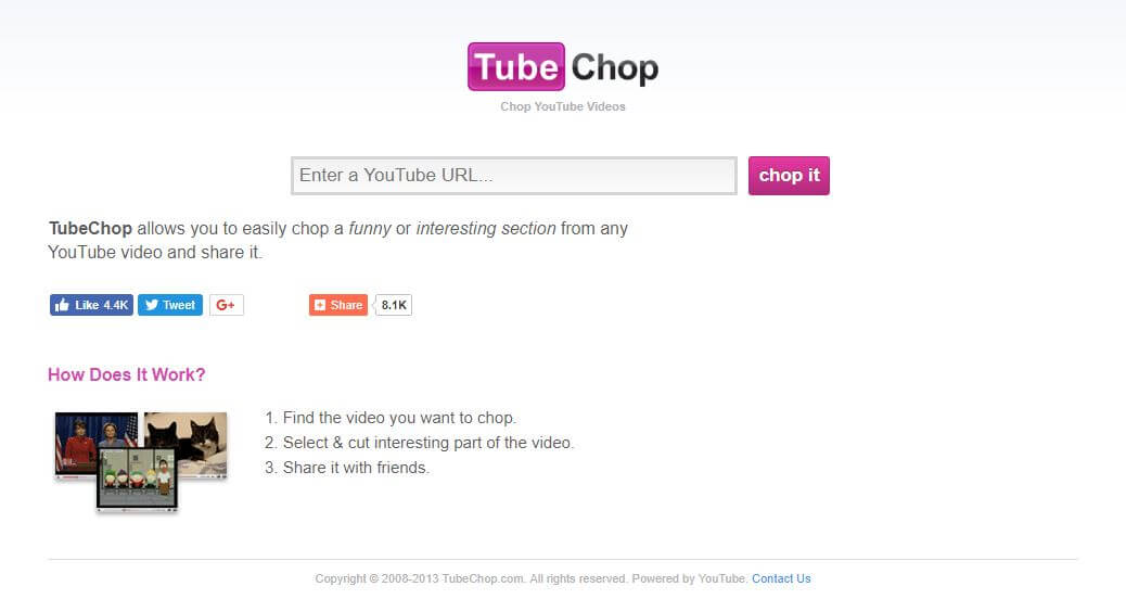 editor de videos para youtube online