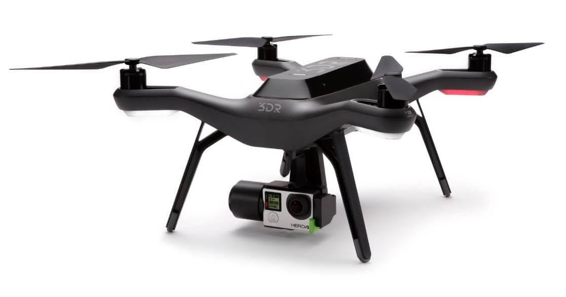3dr solo mejores drones con vuelos más largos de 2018