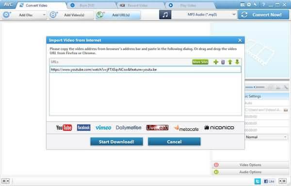 add-url-any-video-converter