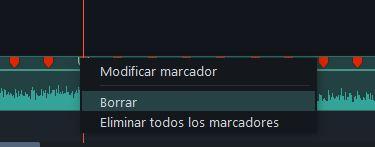 modify markers in Filmora9