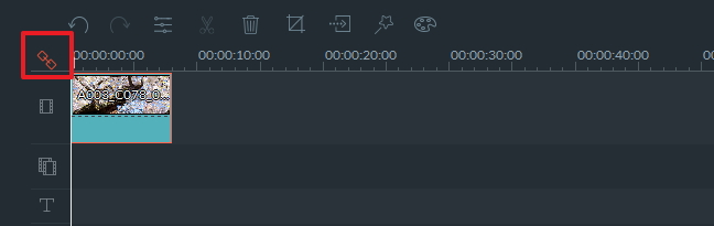 Auto ripple editing timeline
