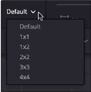 default displaying angle