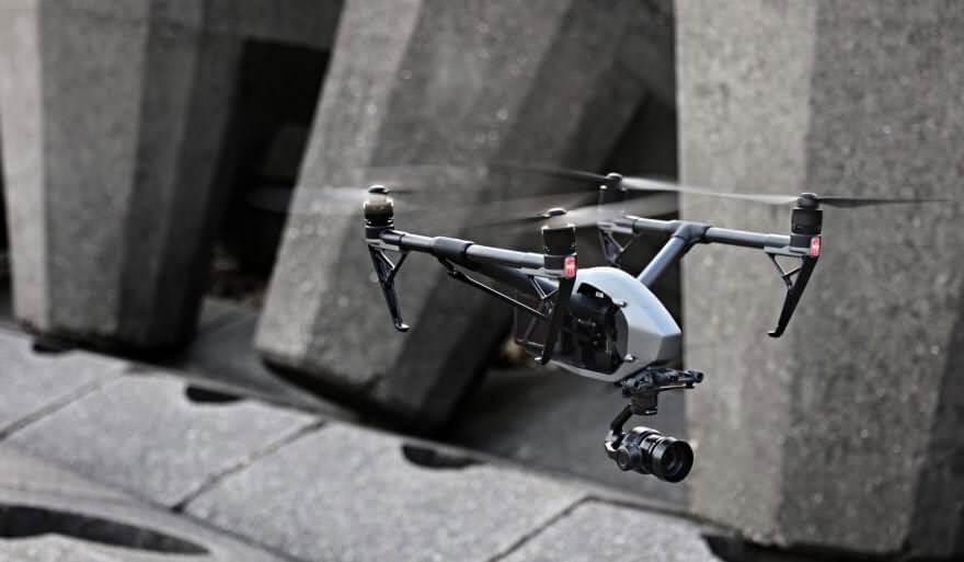dji inspire 2 mejores drones con vuelos más largos de 2018