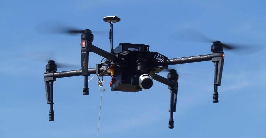 dji matrice 100 Los 10 mejores drones de carga de 2018