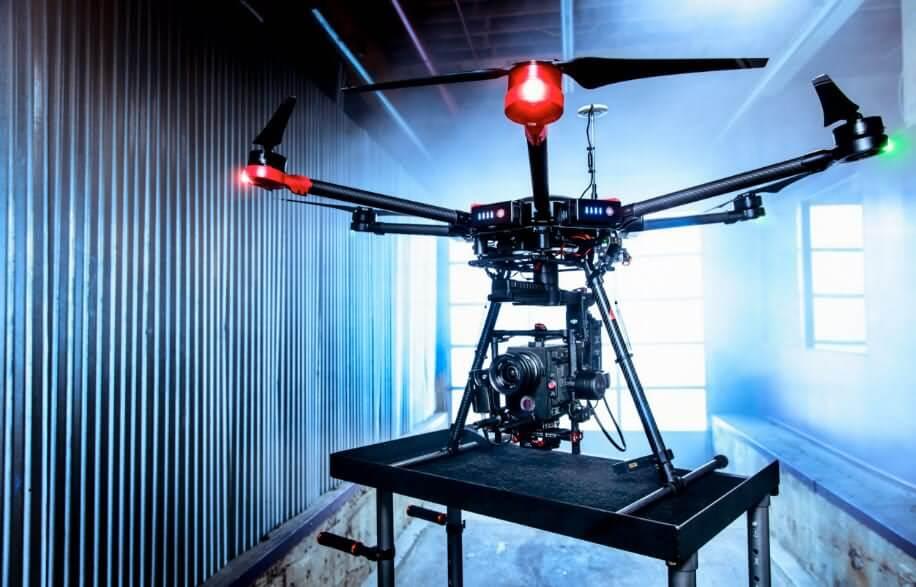 dji matrice 600 Los 10 mejores drones de carga de 2018