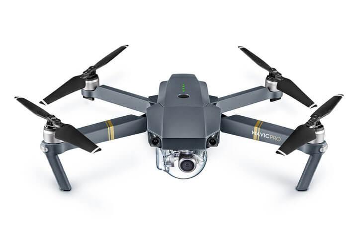 dji mavic pro mejores drones con vuelos más largos de 2018