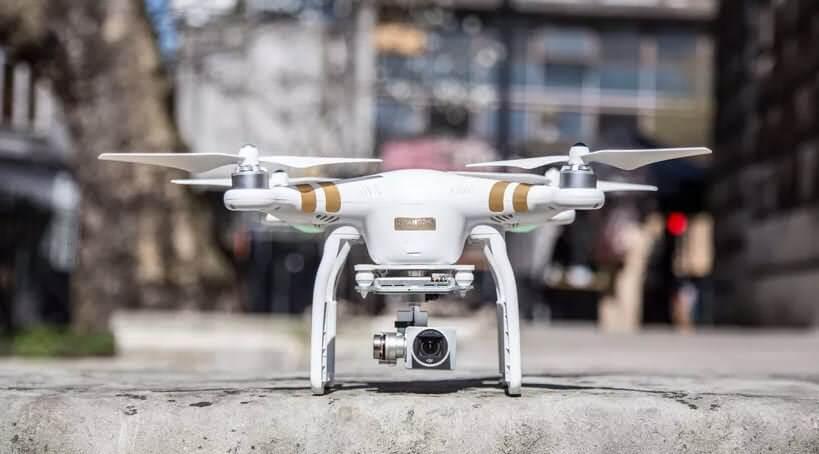 dji phantom 3 pro mejores drones con vuelos más largos de 2018