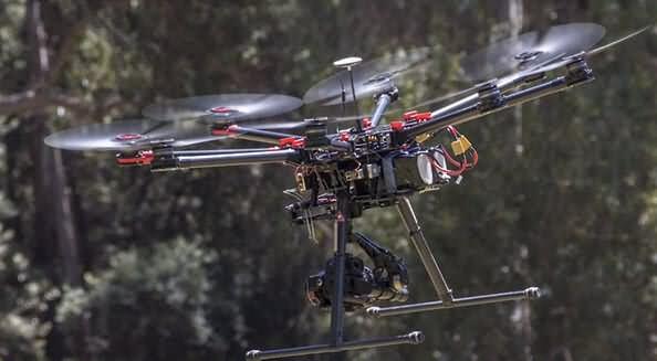 dji s1000 Los 10 mejores drones de carga de 2018