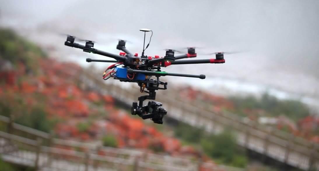 dji s900 Los 10 mejores drones de carga de 2018