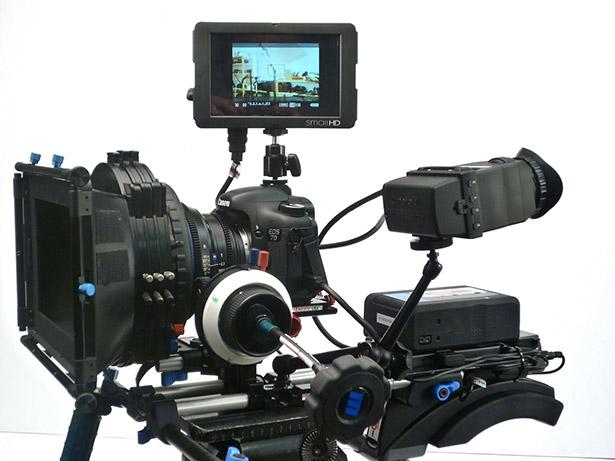 Cámara de vídeo DSLR
