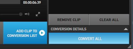 GoPro Studio Conversion