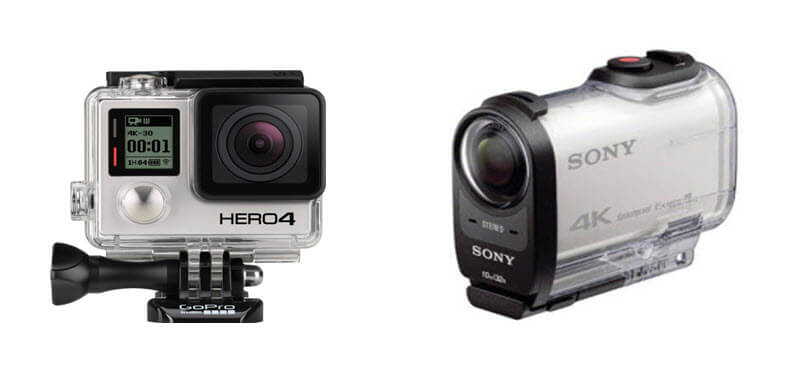 gopro hero4 black vs sony fdr 1000v