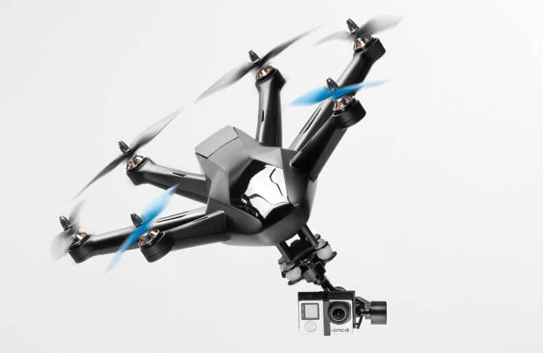Los 10 mejores drones que te siguen hexo+
