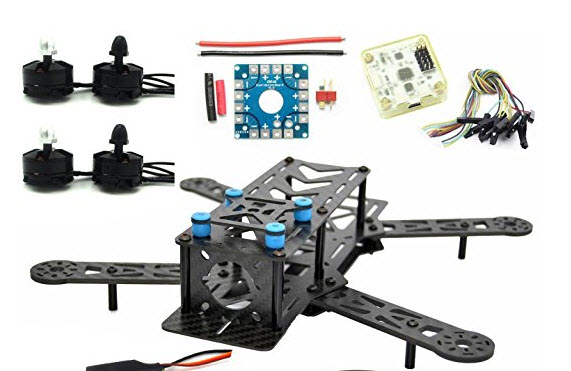 lhi 250mm pro pure carbon fiber quadcopter frame kit
