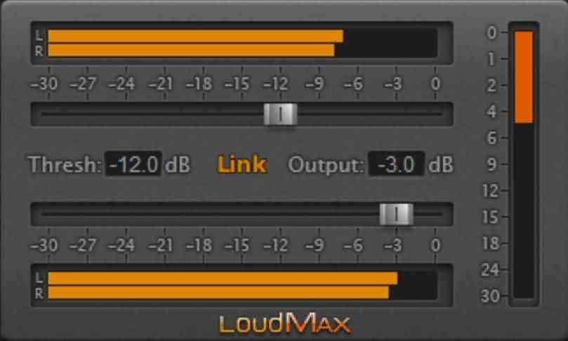 loundmax interface