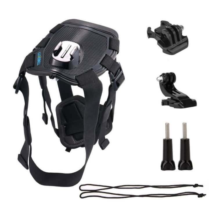 luxebell dog harness mount