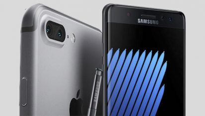 iPhone 7 vs Samsung Galaxy Note 7